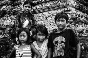 Landmines survivors - Angkor - Cambodia